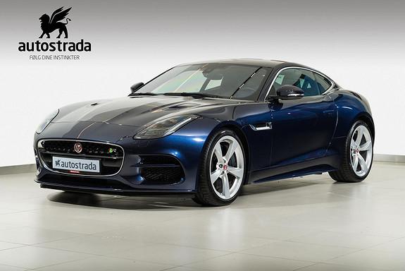 Jaguar F-TYPE R Coupe 5,0 S/C  AWD 550hk