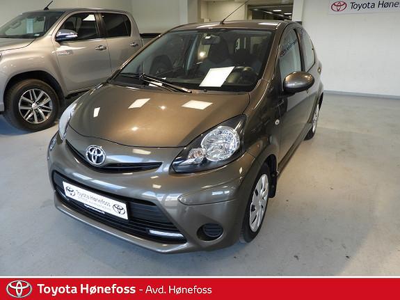 Toyota Aygo 1,0 + 5-d  2012, 57300 km, kr 69000,-