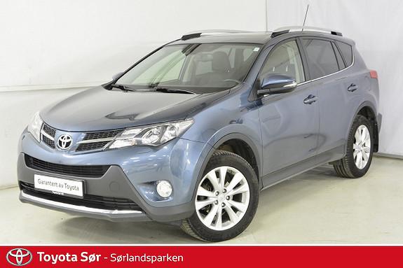 Toyota RAV4 2,2 D-4D 4WD Exective M/Soltak  2013, 125500 km, kr 269000,-