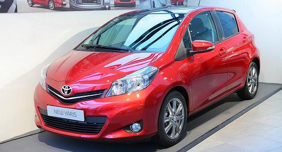 Toyota Yaris Aktiv+  2012, 54500 km, kr 126656,-