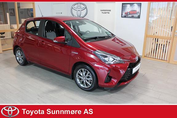 Toyota Yaris 1,5 Hybrid Active e-CVT **LAV KM**VELDHOLDT**NYBILGARAN  2017, 14573 km, kr 199000,-