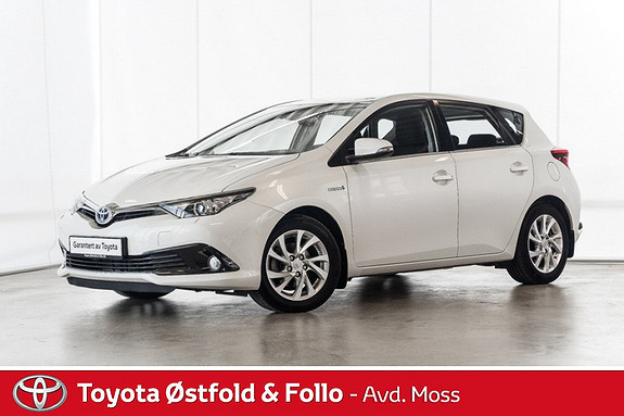 Toyota Auris 1,8 Hybrid E-CVT Active S /KOMPLETT SERVICE/DAB+/NAVI  2016, 37000 km, kr 228000,-