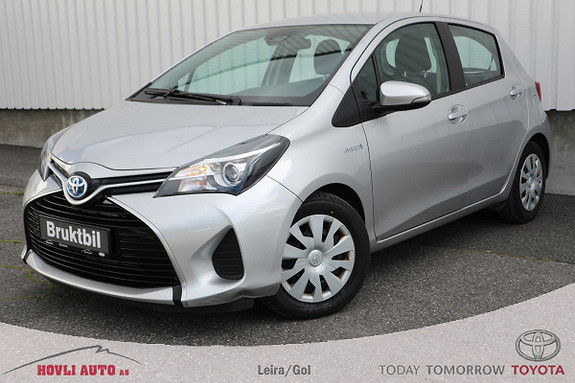 Toyota Yaris 1,5 Hybrid Active Go e-CVT aut // Innbytte // Lån //  2016, 50500 km, kr 169900,-