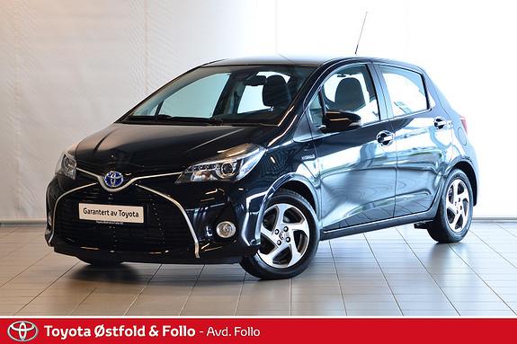 Toyota Yaris 1,5 Hybrid Active S e-CVT  2015, 17214 km, kr 179000,-