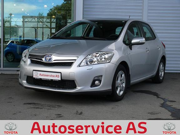 Toyota Auris 1,8 Hybrid Advance HSD  2012, 78000 km, kr 139000,-