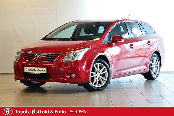 Toyota Avensis 1,6 132hk Advance  2011, 129300 km, kr 129000,-
