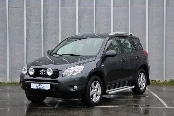 Toyota RAV4 2,2 D-4D 136hk Executive LAV KM, Skinn, Henger ++  2007, 54800 km, kr 139000,-