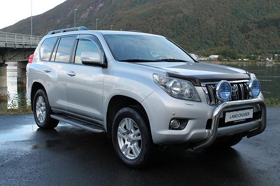 Toyota Land Cruiser LC150 3,0 D-4D GX aut 7s toppmodell 3 tonn  2011, 186543 km, kr 459000,-