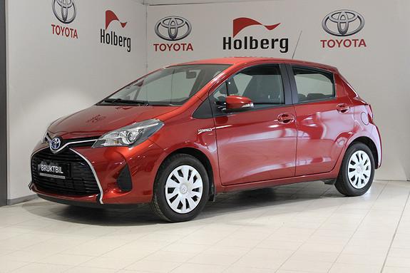 Toyota Yaris 1,5 Hybrid Active e-CVT Navi, Keyless, Tlf, ryggekamera  2014, 11300 km, kr 169000,-