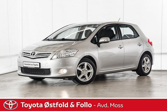 Toyota Auris 1,33 Dual VVT-i  Silver-Edition /ALLE SERVICE OK/DAB+  2010, 96900 km, kr 104000,-