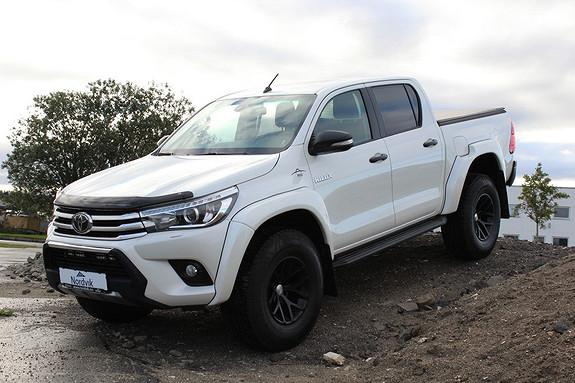 Toyota HiLux D-4D 150hk D-Cab 4WD SR+ AT 35, Ryggekamera, Skinn ++  2016, 20331 km, kr 579000,-