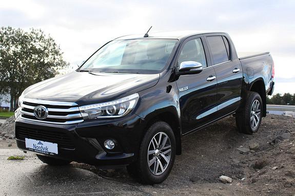 Toyota HiLux D-4D 150hk D-Cab 4WD SR+ aut Skinn, Henger ++  2016, 7700 km, kr 429000,-