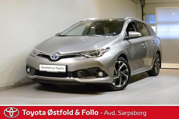 Toyota Auris Touring Sports 1,8 Hybrid Style , LED-LYS/KEY-LESS/17