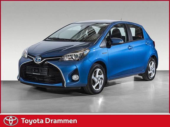 Toyota Yaris 1,5 Hybrid Active e-CVT aut  2016, 44185 km, kr 185000,-