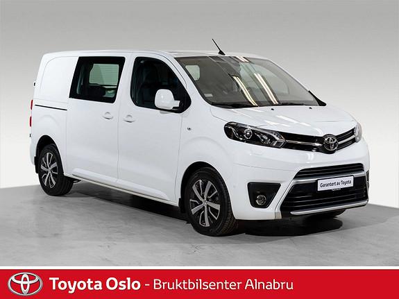 Toyota Proace 2,0 D 122 Comfort Plus L1H1  2017, 15510 km, kr 309900,-