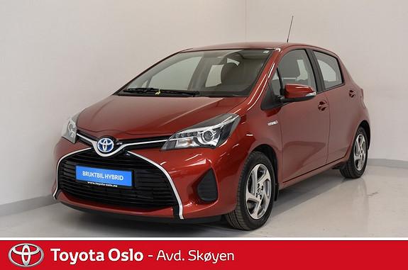 Toyota Yaris 1,5 Hybrid Active e-CVT  2015, 19000 km, kr 174900,-