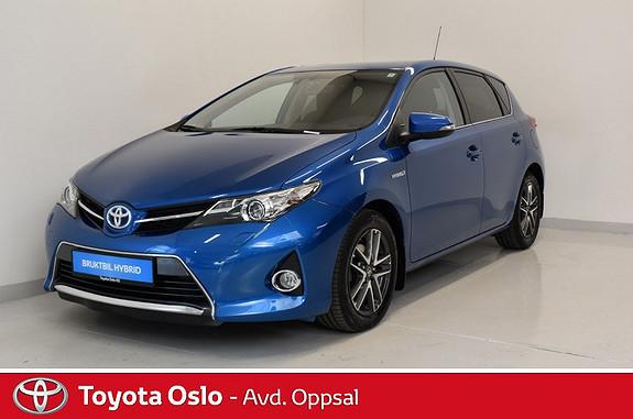 Toyota Auris 1,8 Hybrid E-CVT Active+ Bi-Xenon  2014, 46777 km, kr 204900,-
