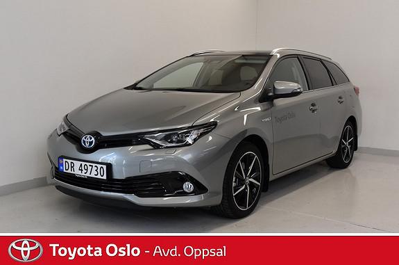 Toyota Auris Touring Sports 1,8 Hybrid Style Edition  2018, 3000 km, kr 334900,-
