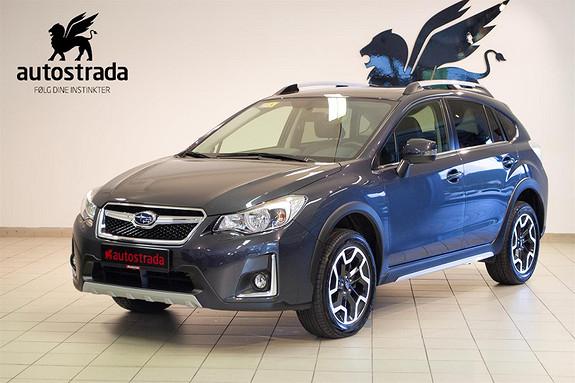 Subaru XV 2,0i 150hk  Premium, AWD, Skinn, navi, kamera, Dab  2017, 9600 km, kr 335161,-