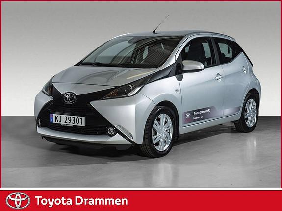Toyota Aygo x-play 1,0 x-shift  2017, 8730 km, kr 150000,-