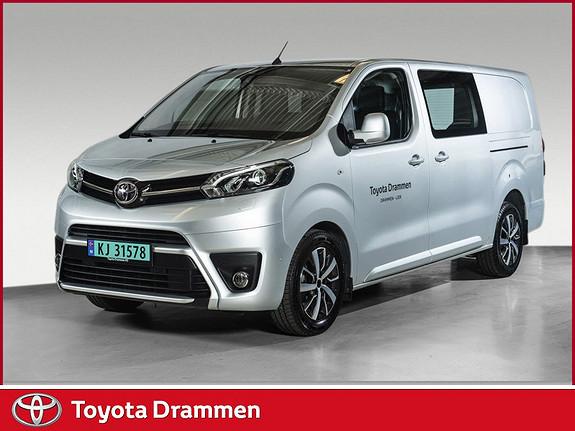 Toyota Proace 2,0 D 122 Comfort Plus L2H1  2017, 10475 km, kr 299000,-