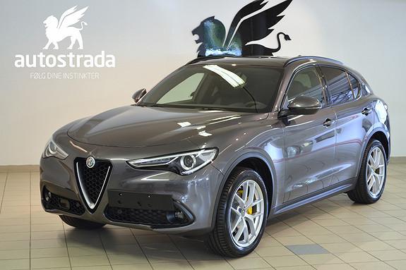 Alfa Romeo Stelvio 2.2d 210hk Q4 Sportsseter H.feste Skinn Dashboard