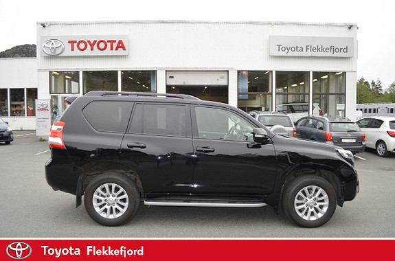 Toyota Land Cruiser 3,0 D-4D VX Aut SKINN  2014, 29800 km, kr 459000,-