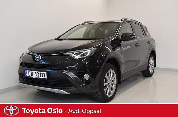 Toyota RAV4 Hybrid AWD Executive , Hengerfeste  2018, 5000 km, kr 494900,-