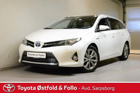 Toyota Auris Touring Sports 1,8 Hybrid Executive , HENGERFESTE,  2013, 86800 km, kr 188000,-