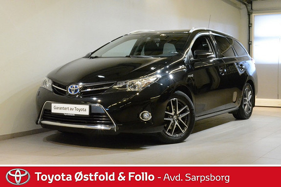 Toyota Auris Touring Sports 1,8 Hybrid Active+ , XENON/DAB+/KEY-LESS  2015, 57800 km, kr 218000,-