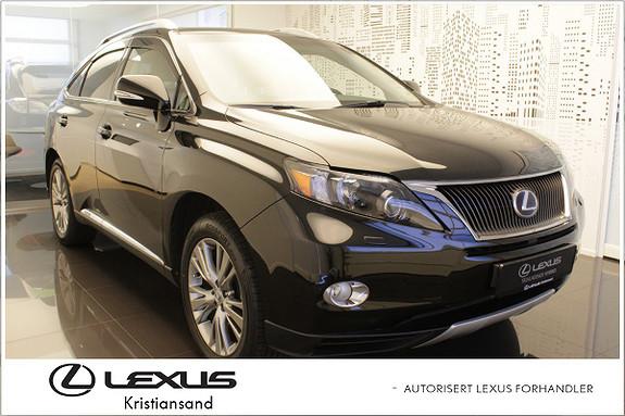 Lexus RX450h Shadow Edition m/soltak og hengerfeste  2012, 98000 km, kr 449000,-