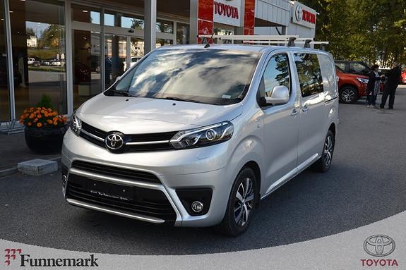 Toyota Proace 2,0 D 122 Comfort L1H1  2017, 26500 km, kr 299000,-