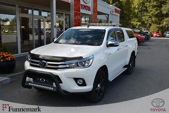 Toyota HiLux D-4D 150hk D-Cab 4WD SR+ aut  2016, 38900 km, kr 389000,-