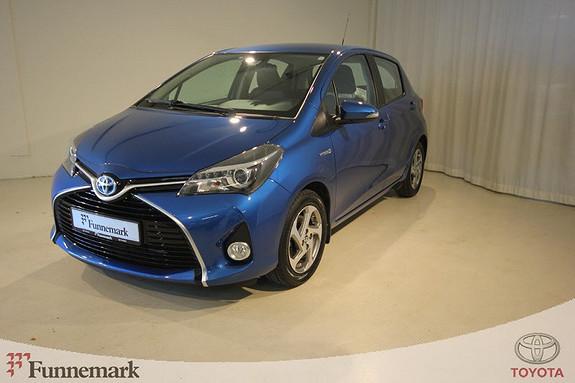 Toyota Yaris 1,5 Hybrid Active e-CVT  2015, 26800 km, kr 175000,-