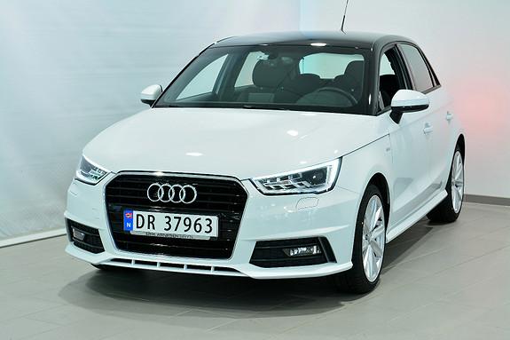 Audi A1 SB 125 HK TFSI S TRO SPORT  2018, 11000 km, kr 299000,-