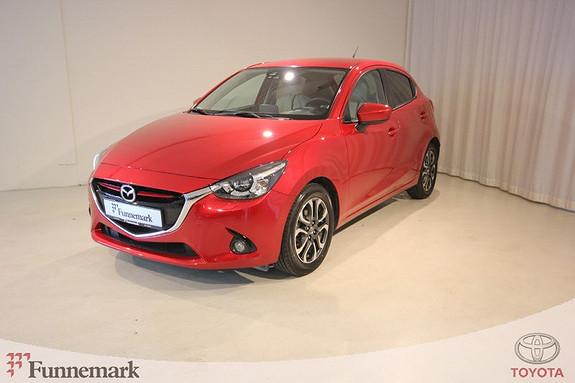 Mazda 2 1,5 90hk Optimum  2015, 18200 km, kr 169000,-