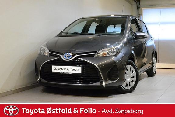 Toyota Yaris 1,5 Hybrid Active e-CVT , DAB+/NAVIGASJON,  2015, 60861 km, kr 158000,-