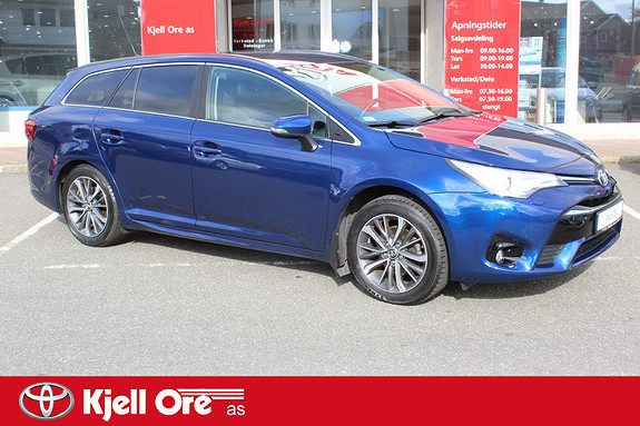 Toyota Avensis Touring Sports 1,8 Active M-drive 7S  2016, 46375 km, kr 269000,-