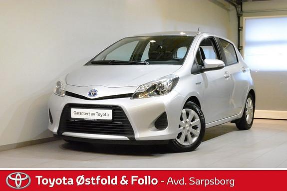 Toyota Yaris 1,5 Hybrid Active , DAB+/NAVIGASJON,  2013, 56200 km, kr 145000,-