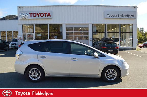 Toyota Prius+ Seven 1,8 VVT-i Hybrid Executive med GLASSTAK  2012, 117366 km, kr 179000,-