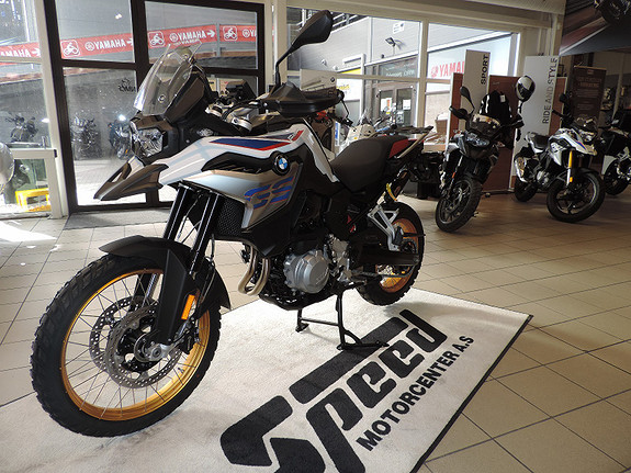 Bilbilde: BMW F850 GS  Rallye Performance