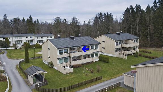 Lys og pen 3-roms andelsleilighet i stille og barnevennlig boligområde sentralt på Stridsklev.