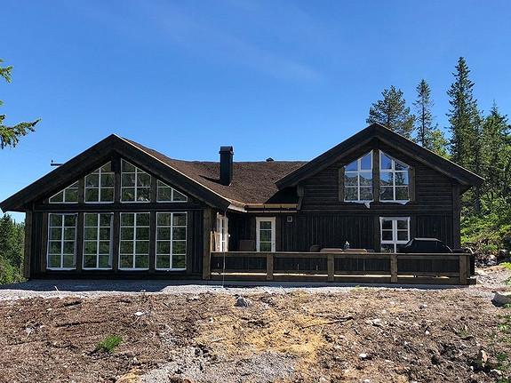 Stor, flott Buen-hytte, kr. 3.195.000 (uten tomt)
