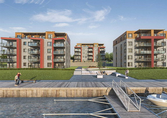 2 Flotte leiligheter med nærhet til Bryggekanten- Bygging igangsatt!