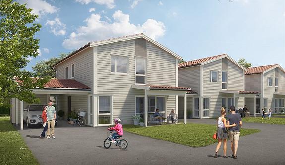 Velkommen til innholsrike boliger i rekke på Bjørnstadenga. Innflyttning fra Mai!
