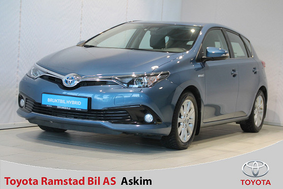 Toyota Auris 1,8 Hybrid E-CVT Active S Facelift Toyota Safety Sense  2015, 44000 km, kr 199000,-