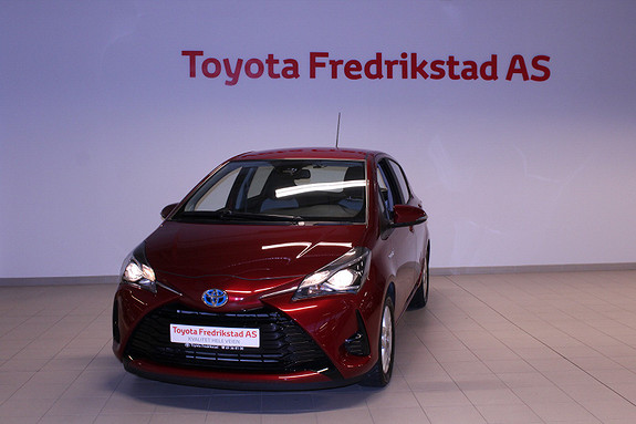 Toyota Yaris 1,5 Hybrid Active Go e-CVT aut  2017, 3500 km, kr 219000,-