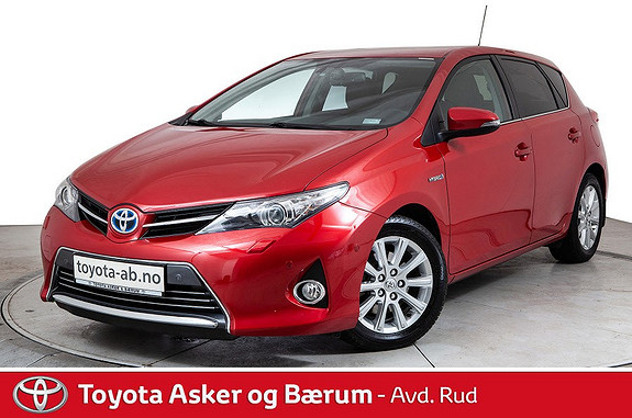 Toyota Auris 1,8 Hybrid E-CVT Executive KAMPANJE!!  2014, 51700 km, kr 179000,-