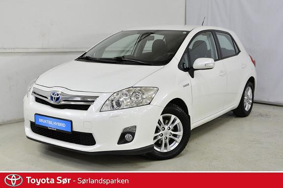 Toyota Auris 1,8 Hybrid Advance HSD  2012, 72000 km, kr 139000,-