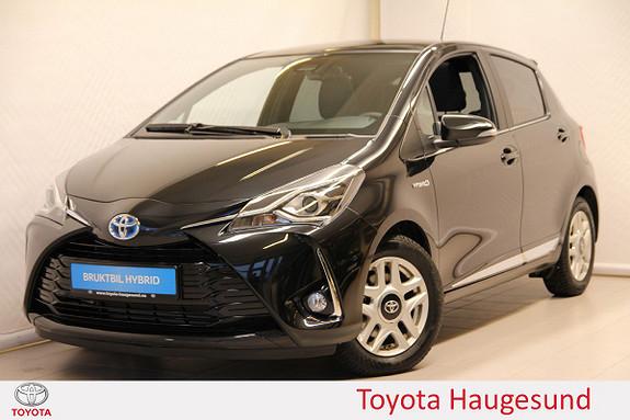 Toyota Yaris 1,5 Hybrid Style e-CVT aut  2018, 1155 km, kr 249000,-